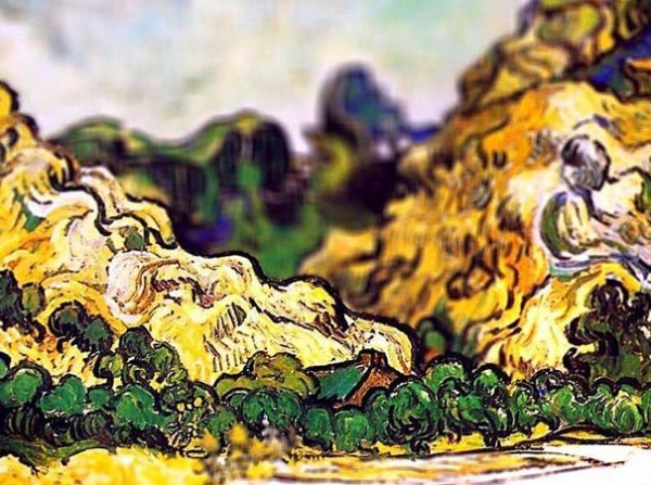 Mountains at Saint-Remy, 1889