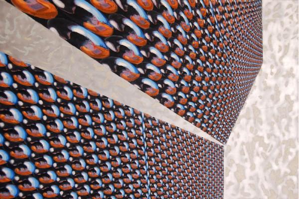 于幸泽 Yu Xingze 开启 To Open 300cmx200cm 布面油画  Oil-On-Canvas 2008