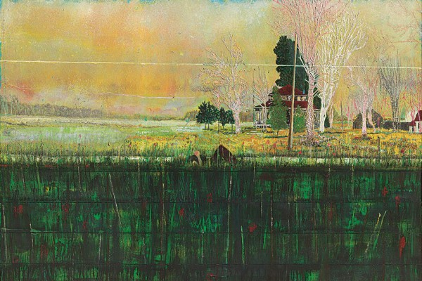 Peter Doig Daytime Astronomy 1997-98 Oil on Canvas 200 x 280