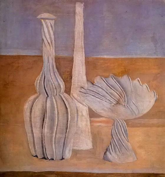 Giorgio Morandi Bottiglie e fruttiera