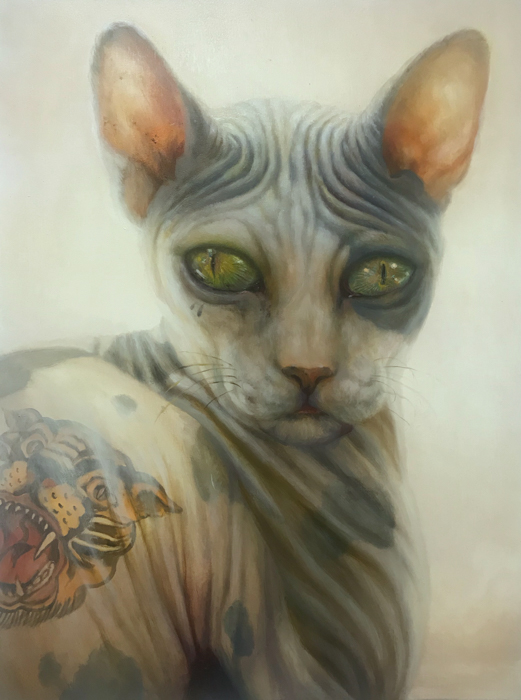 """The Cat Art Show 3"" - Wildcat_WIttfooth"