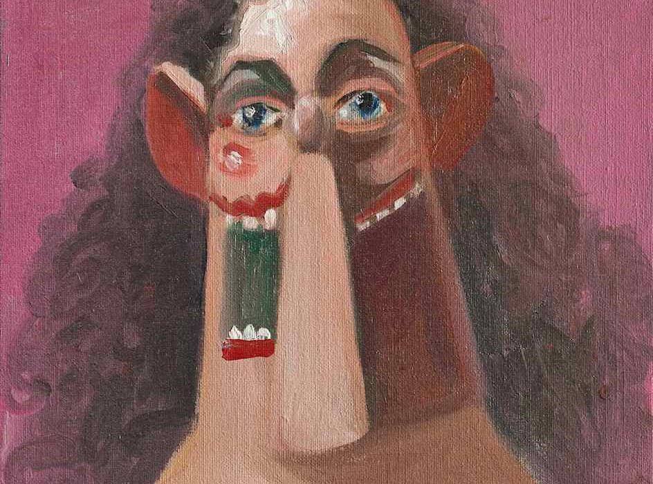 George Condo - Young Girl