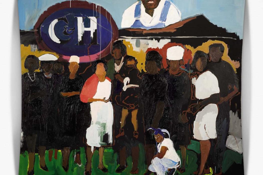 Lot 10, Henry Taylor, C&H, 2006 (est. £120,000-180,000)