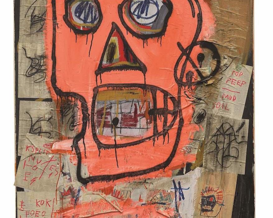 Lot 13, Jean-Michel Basquiat, Untitled, 1982 (£7.5-10 million)