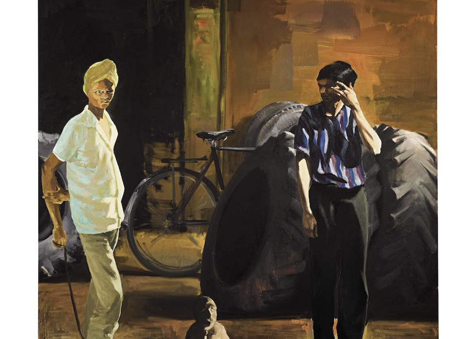 Lot 14, Eric Fischl, The Tire Store, 1989 (£270,000-350,000)