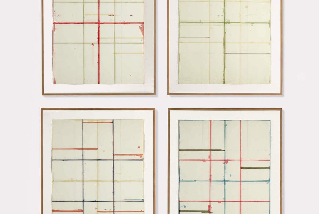 Lot 16, Brice Marden, Basel Drawings (Window Studies No. 1, 2, 4, 5), 1983 (£550,000-750,000)