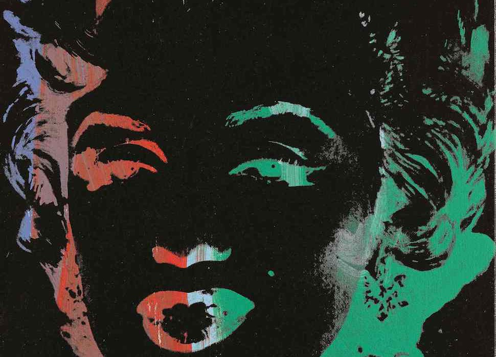 Lot 18, Andy Warhol, Marilyn (Reversal) (£1.2-1.8 million)