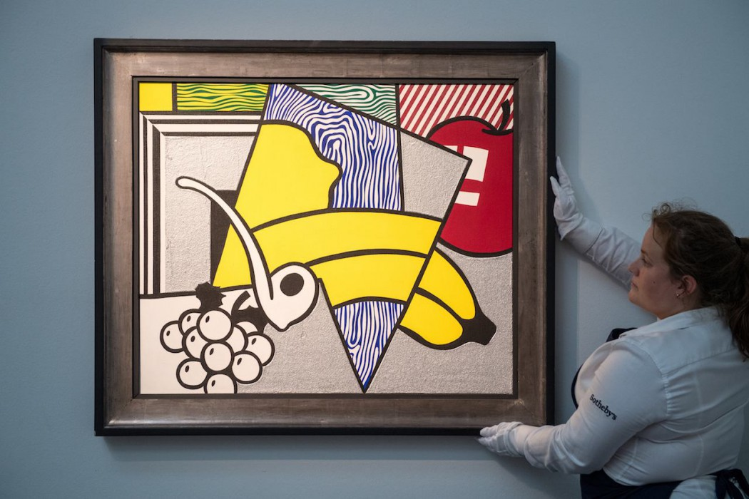 Lot 20, Roy Lichtenstein, Cubist Still Life, 1974 (£1.8-2.5 million) ii