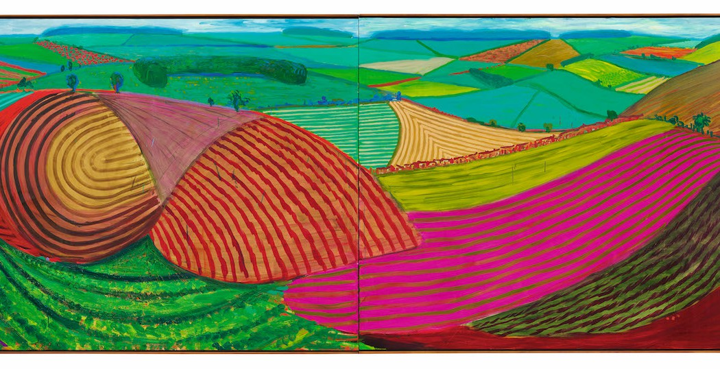 Lot 26, David Hockney, Double East Yorkshire, 1998 (£10-15 million)