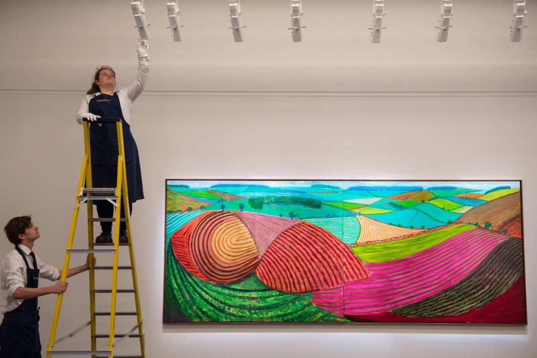 Lot 26, David Hockney, Double East Yorkshire, 1998 (£10-15 million) i