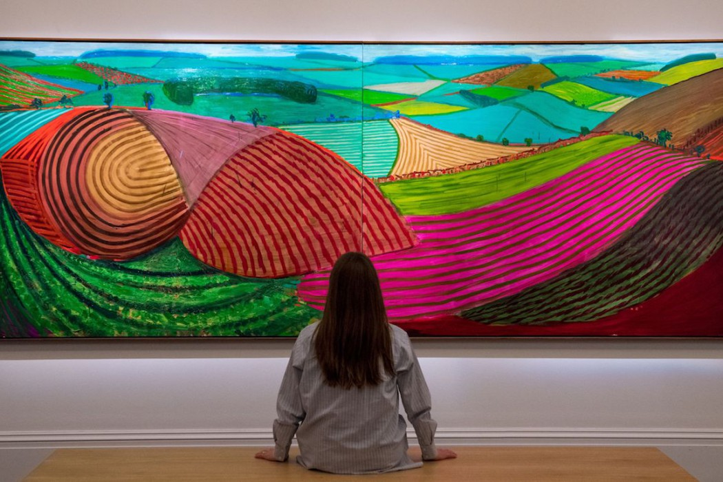 Lot 26, David Hockney, Double East Yorkshire, 1998 (£10-15 million) ii