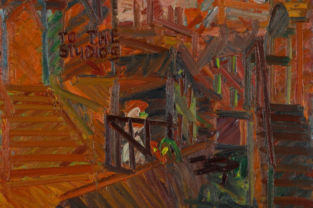 Lot 27, Frank Auerbach, To the Studios, 1977 (1.2-1.8 million)
