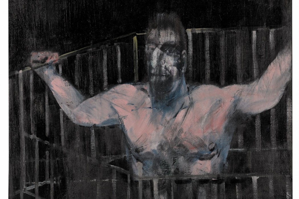 Lot 28, Francis Bacon, Study of a Figure, 1954 (est £3-4 million)