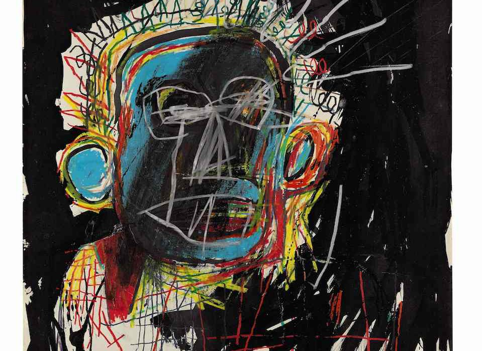 Lot 3, Jean-Michel Basquiat, Untitled, 1982 (£1.5-2.5m)