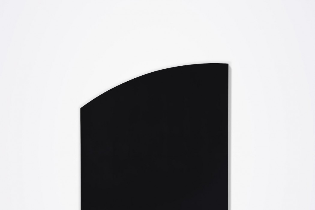 Lot 34, Ellsworth Kelly, Black Panel with Curve, 1999 (£1.6-2.2 million)