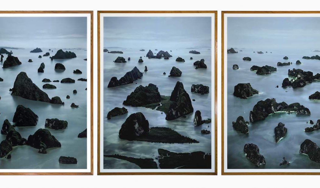 Lot 37, Andreas Gursky, James Bond Island I, II & III, 2007 (£600,000-800,000)