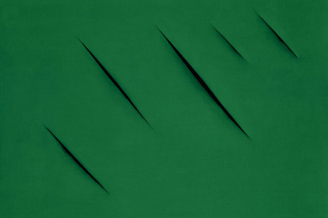 Lot 39, Lucio Fontana, Concetto Spaziale, Attese, 1959 (£900,000-1.2 million)