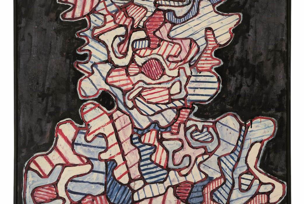 Lot 4, Jean Dubuffet, L'Amphibologique, 1965 (£700,000-900,000)