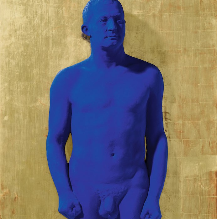 Lot 40, Yves Klein, Portrait Relief of Arman, (PR 1) (£400,000-600,000)