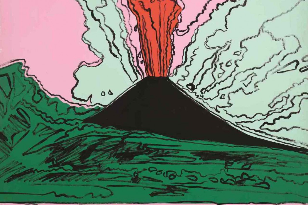 Lot 41, Andy Warhol, Vesuvius, 1985 (est. £800,000-1.2 million)