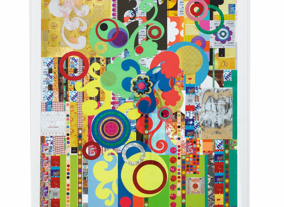 Lot 42, Beatriz Milhazes, Yoghurt, 2008 (est. £250,000-350,000)