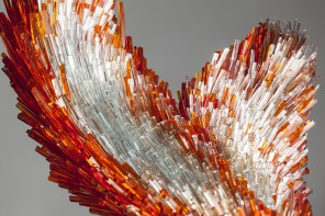 Not a Petting Zoo: Animals Comprised of Shimmering Glass Shards