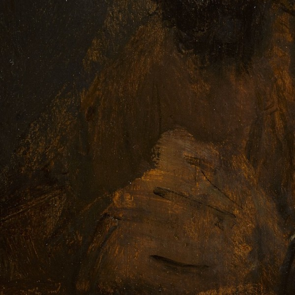Rembrandt van Rijn, Study of the Head of a Young Man-details-02