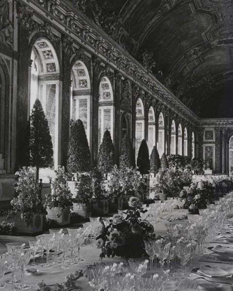1938年凡尔赛宫午宴历史图片