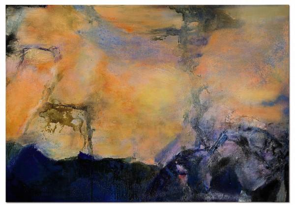 Zao Wou-Ki, Juin-Octobre 1985_Detail 2