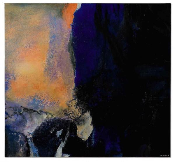 Zao Wou-Ki, Juin-Octobre 1985_Detail 3