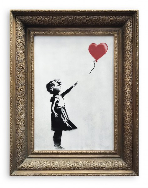Banksy B. 1974 GIRL WITH BALLOON HD