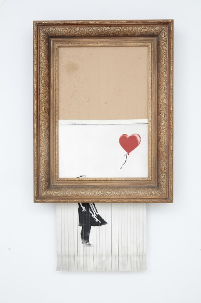 Banksy, Love is in the Bin HD