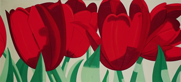 Alex Katz, Red Tulips, 1967 HD