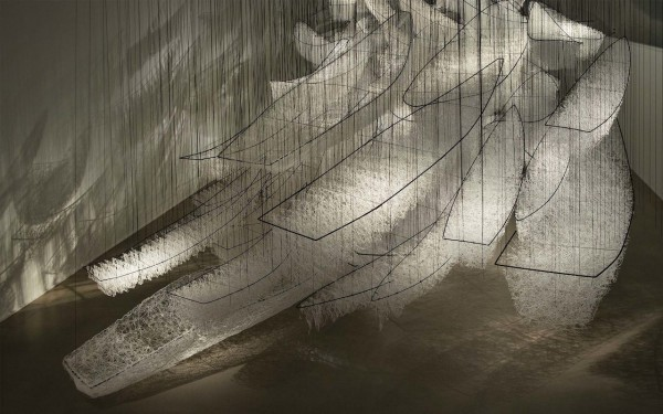 Chiharu Shiota  Where Are We Going?, 2017 - 2018