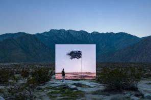"""艺廊开幕:""""沙漠X""""艺术节上的新装置 @科切拉"""