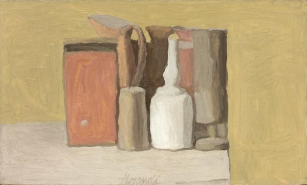 乔治·莫兰迪 静物 1949年作