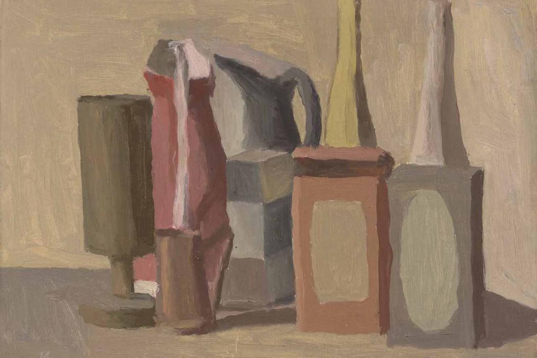 乔治·莫兰迪 静物 1942年作