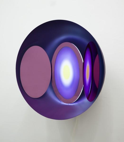 刘韵菡《Now,此时》50x25x50cm灯片不锈钢LED灯-19Z0020